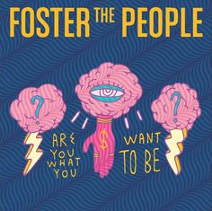 Foster the People album artwork -- it's the right feeling