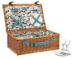 MissPrint Sapling picnic hamper at John Lewis
