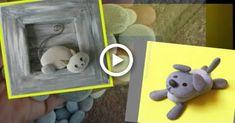 DIY Rocks Craft Ideas to Make And Sell - Stones Decoupage Tutorial Pebble Painting, Pebble Art, Stone Painting, Diy Painting, Rock Painting, River Rock Crafts, Ladybug Rocks, Painted Rocks Craft, Decoupage Tutorial