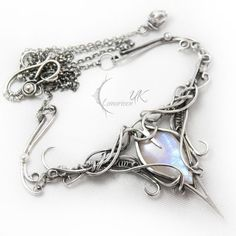 ANTINLIURN - silver and moonstone by LUNARIEEN on deviantART