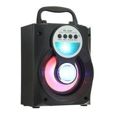 Original Loudspeaker Eonec MS - 229BT Portable Bluetooth Speaker Bass LED Backlight FM AUX Input //Price: $30.34      #FirstDayOfSummer
