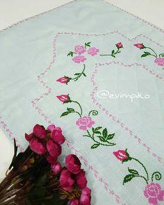 Cross Stitch Designs, Instagram, Cross Stitch Rose, Cross Stitch Embroidery, Towels, Border Tiles, Gems, Prayer Rug, Embroidery