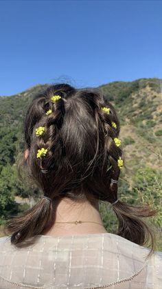 Kawaii Hairstyles, Pretty Hairstyles, Hair Inspo, Hair Inspiration, Soft Grunge Hair, Dye My Hair, Aesthetic Hair, Hair Looks, Hair And Nails