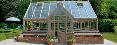 Aluminum greenhouse / residential OPUS GLASSHOUSE EXAMPLE 3 HARTLEY BOTANIC