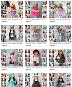 Soft doll Decor doll Baby doll Muñecas Rag doll Fabric doll