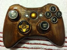 Not big fan of 360, but this is cool! - Custom Steampunk Xbox 360 Controller