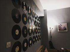 #vinyl #records #wall