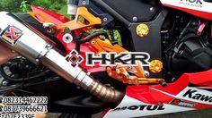 Tes Suara Knalpot Akrapovic GP M1 Lorenzo Best Emblem Kawasaki Ninja 205 FI