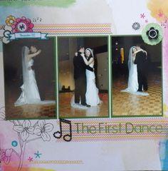 The first dance - Scrapbook.com