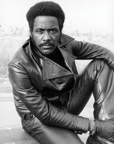 Richard Roundtree  b. 1942 Actor (best known for the Shaft movie series) Left: circa 1970