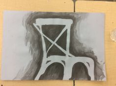 Negative space chair