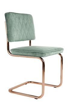Diamond chair Minty Green