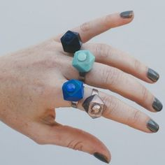 Give your guests a cute party favor when you craft these Geometric Bead Rings. Perfect for a wedding favor or a simple gift, these adorable beaded rings are a fabulous present