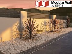 Residential Walls Gallery - Modular Walls   boundary walls   front fences   feature walls   estate walls   DIY walls   Australia Wide