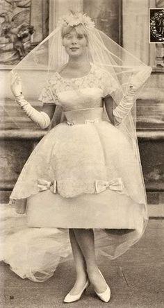 1959 vintage bride