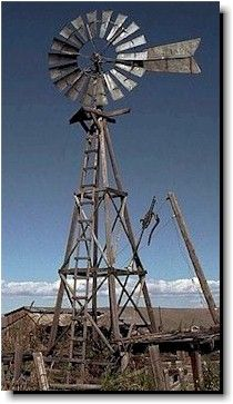 Abandoned wells may be located anywhere but there are some obvious indicators of the presence of abandoned wells such as windmills, hand pumps, abandoned farmsteads, or a simple pipe sticking out of the ground. Tilting At Windmills, Old Windmills, Blowin' In The Wind, Water Mill, Water Tower, Old Farm, Le Moulin, Covered Bridges, Old West