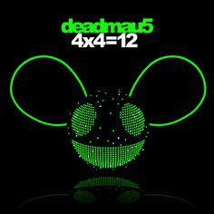 I love this album cover design for Deadmau5, one of my favourite DJs and music producers.