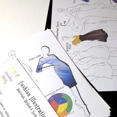 Do you want to try or hand at Fashion Illustration? Try my #FashionIllustration Worksheet 2ndEd (Download)