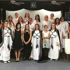 AZ Job's Daughters Bethel 19 End of term. Our HQ is passing the torch to the Senior Princess that will lead our Bethel for the next six months. Our HQ finished the night with 3 initiates, 1 petition read, and the old rugged cross.