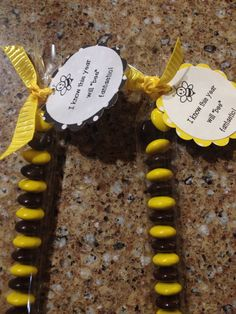 First day of school treats for my students, bee theme