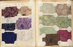 Textile Sample Book | possibly French | The Met