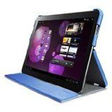 SGP Wi-Fi Only Galaxy Tab 10.1 Leather Case Leinwand Series [Tender Blue]