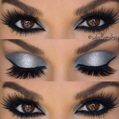 A smokey eye look is a perfect suggestion for any occasion. Whether you want to look mysterious and feminine or simple and elegant – there is always a way! A brown eye color is one of the best due to its ability to go together with any color. You do not n