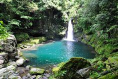 にこ渕の滝 #Nikobuchi #Japan #waterfall