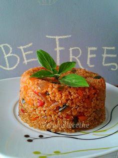 Embellecethe: Quinoa con Verduras, Soja y Tandori Masala