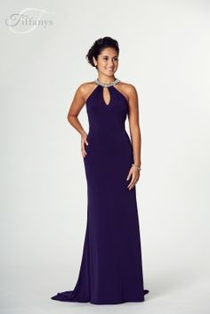 3ab382ac03b Dress - Tiffany Illusion Prom Abbie Purple Size 12