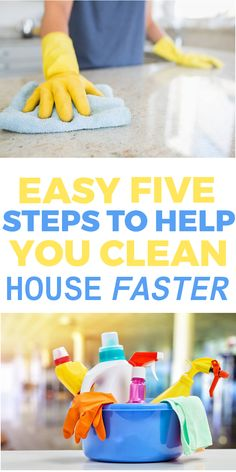 Easy 5 Steps to Help You Clean Your House Faster