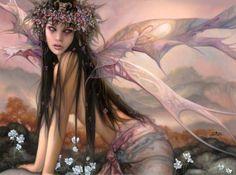 DeviantArt: More Like Fantastic World by Fantasy-fairy-angel Fairy Dust, Fairy Land, Fairy Tales, Magical Creatures, Fantasy Creatures, Dragons, Love Fairy, Sad Fairy, Beautiful Fairies