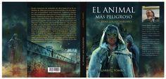 """Cubierta del thriller victoriano: """"El animal más peligroso"""""""