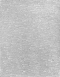 Roman Opalka, 1 to Infinity, 1965