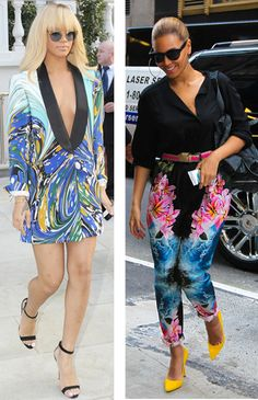 Rihanna vs. Beyonce in Stella McCartney. Who's your fave?