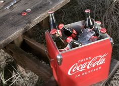 The perfect beach cooler. #cokestyle Thanks to our friends at Coca-Cola!