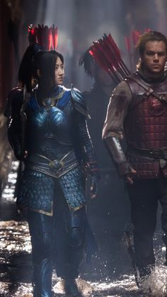 The Great Wall Wallpaper, Movies / Search Results: The Great Wall, Matt Damon, Jing Tian, best movies Jing Tian, Female Armor, Matt Damon, About Time Movie, Film Awards, Dark Horse, Film Posters, Thing 1, Asian Girl