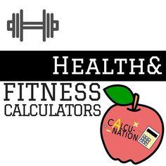 Free Health & Fitness Calculator!
