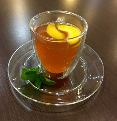 Hot Peach Tea! Perfect to warm you up on a cold night! #reddiamond #sweetandtasty