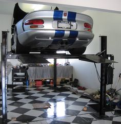 Professional Grade Specialists Since Car Storage - Residential - Commercial - Vehicle Lift Parking Systems. Garage Car Lift, Garage Parking, Garage Tools, Car Storage, Garage Storage, Lifehacks, Mobiles, Automotive Shops, Parking Solutions