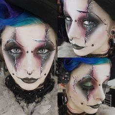 make up on Iska Ithil for an Illamasqua master class