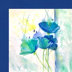 Classic Blue Pantone Color Of The Year 2020 | Laura Trevey Art