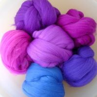 Merino Tops : Pinks & Purples
