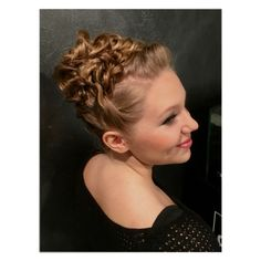 Knot updo for blond hair