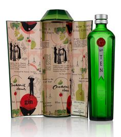 Tanqueray—when the box is used for more than just to protect the bottle—it helps tells a story.