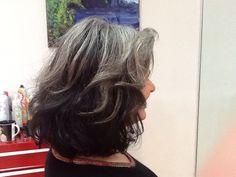 Gray hair, embrace it!
