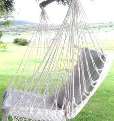Cadeira Rede De Descanso De Teto Várias Cores Kit Completo