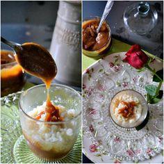 Riz au lait chocolaté ou riz au lait caramel beurre salé