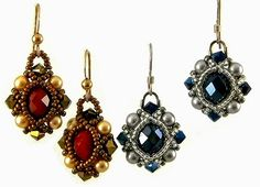 There are some earrings that keep popping up on Pinterest but I couldn't find a pattern for them. You may have seen these: The p...