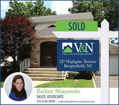 #SOLD #SOLD - That's two homes in one week sold by Esther Shayowitz - V & N Realty - 201-638-5858 or visit us at www.vera-nechama.com  More Listings. More Experience. More Sales. #teaneck #bergenfield #newmilford #realestate #veranechamarealty #njrealestate #realtor #homesforsale - http://ift.tt/1QGcNEj